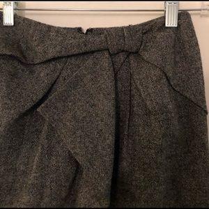 Pencil Skirt Ruffle Bow Detail | Banana Republic